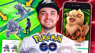 Pokemon GO - WILD *RARE* SPAWN + EPIC EVOLUTIONS!