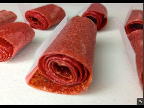 How to make Fruit Roll-Ups