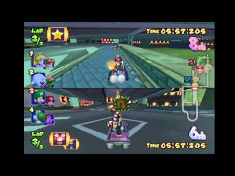Getting Opponents Stuck In Mushroom City - Mario Kart: Double Dash!!