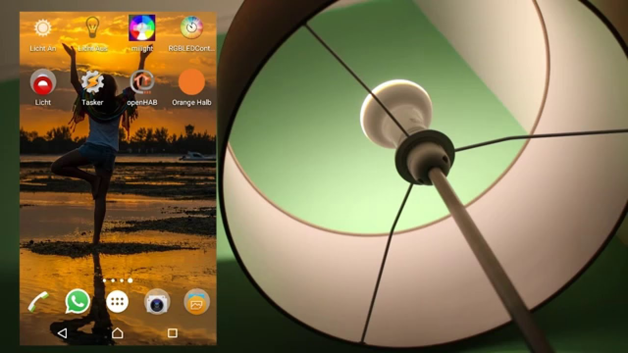 Mi light wifi led lampen app und test youtube parisarafo Image collections