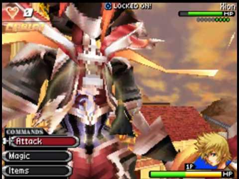 Kingdom Hearts 358/2 Days - Pre-Final Boss: Number XIV, Xion [No ...