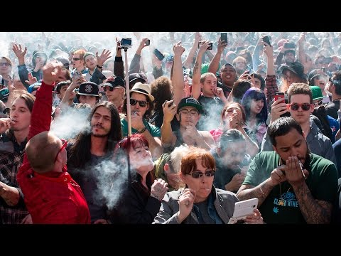 420 Toronto celebration of pot culture