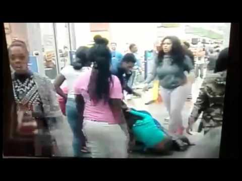 EIU Students Fight at Walmart in Charleston Illinois Full Video