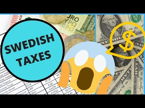 The TRUTH about Taxes in Sweden- My REAL NUMBERS