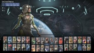 Injustice 2 full roster including alternate skins