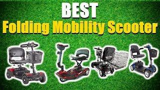 Best Folding Mobility Scooter 2019 [RANKED] | Folding Mobility Scooters Reviews