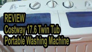 Giantex Portable Mini Washing Machine Review - COSTWAY WASHING MACHINE