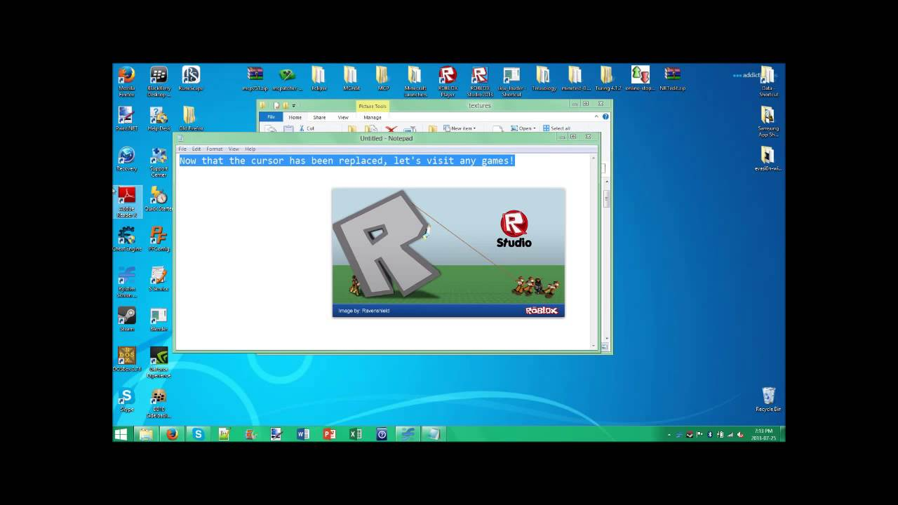 Roblox Tutorial Get The Old Cursor Back Pc Youtube