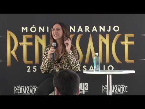 Mónica Naranjo -  Rueda De Prensa Renaissance