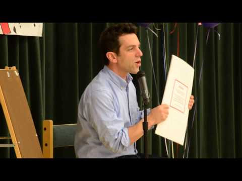 B.J. Novak reads from