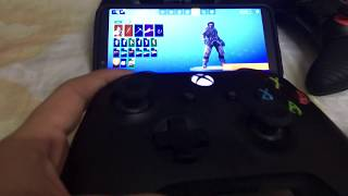 Fortnite controller gameplay iPhone new update!!!