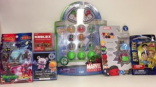 Five Nights at Freddy's Roblox Marvel Tsum Tsums Squinkies Funko Surprise Toys Blind Bag Opening