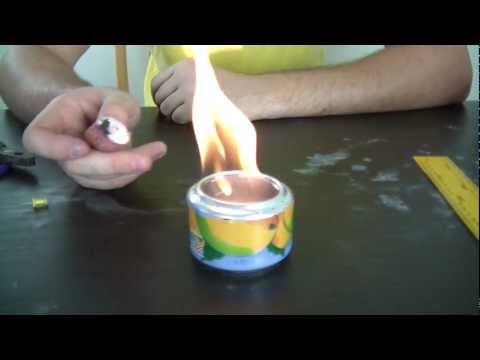Alcohol Stove Zombie Survival Tips #4