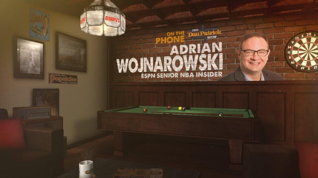 Man Caves Dan Patrick : Espn's adrian wojnarowski on the dan patrick show full interview