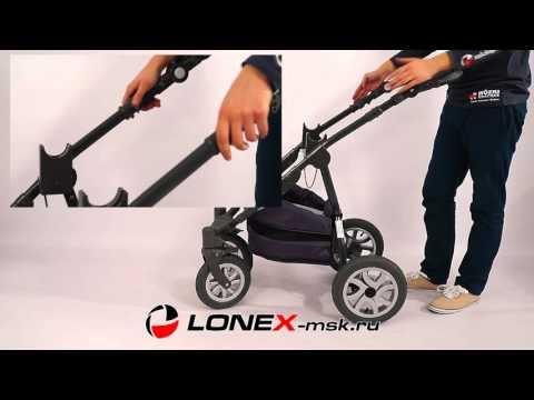 Детская коляска Lonex Sweet Baby Pastel