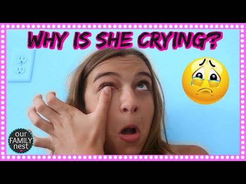 WHY IS SHE CRYING? WILL HER ADDICTION TO SLIME EVER END?
