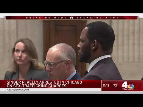 R Kelly Arrested in Chicago by NYPD Detectives  NBC New York