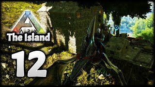 EPIC NEW ARK BASE! PTERANODON TAMING! | Let's Play ARK Survival Evolved: The Island | Episode 12