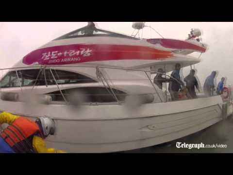 Headcam video shows frantic South Korea ferry rescue