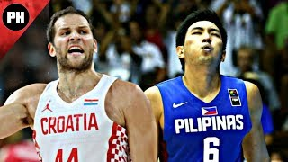 Throwback // Gilas Pilipinas vs Croatia 2014 FIBA World Cup Extended Highlights