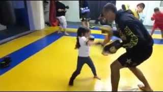 Five Year Old Female Muay Thai Prodigy