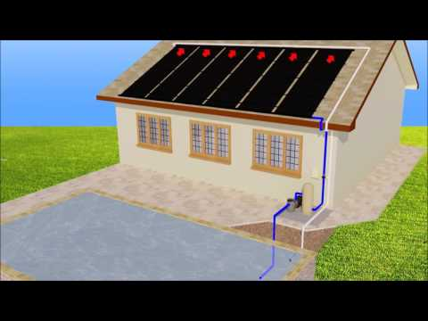 How Does Solar Pool Heating Work?