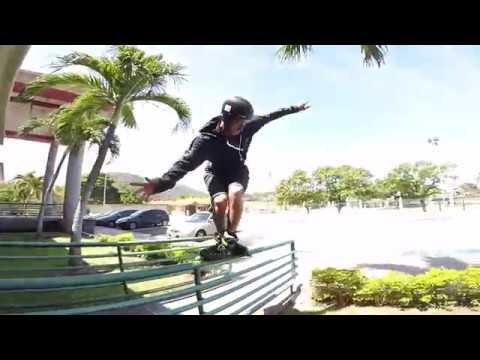 Jacob Juul in Venezuela - USD Aeon 72 skates