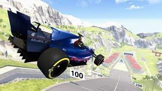 Car Jump Arena Madness #1 – BeamNG Drive   CrashBoomPunk