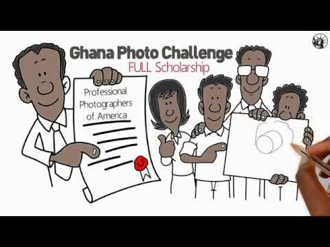 New York Institute of Photography scholarship to winners of the 2018 Ghana Photo Challenge.