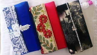 How to make clutch | No Sew | DIY Clutch