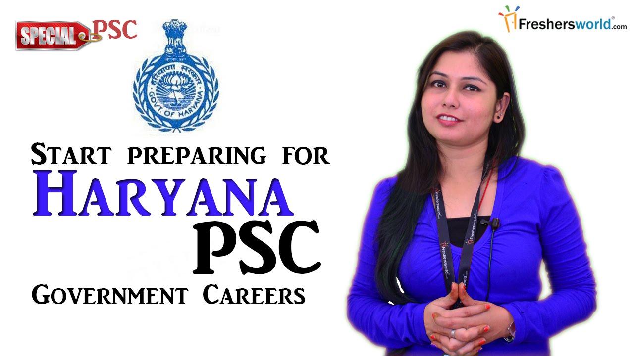 Haryana Public Service commission - HPSC 2016 Recruitment & Results