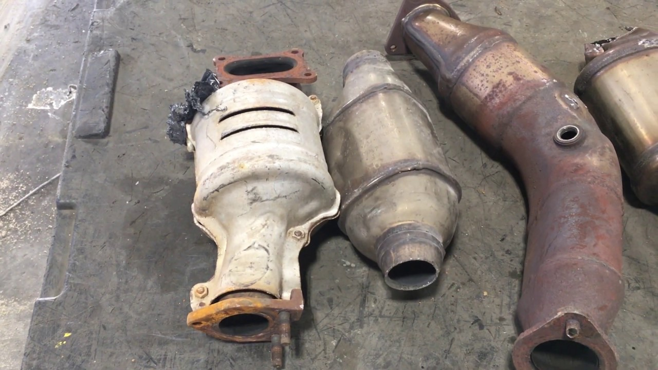 Catalytic Converter Scrap Price >> Identifying Scrap Catalytic Converters Mercedes Ford And More