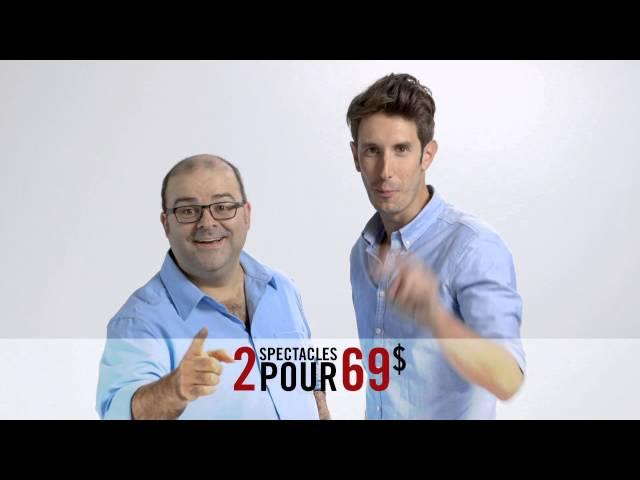 Laurent Paquin et Jérémy Demay - Contact