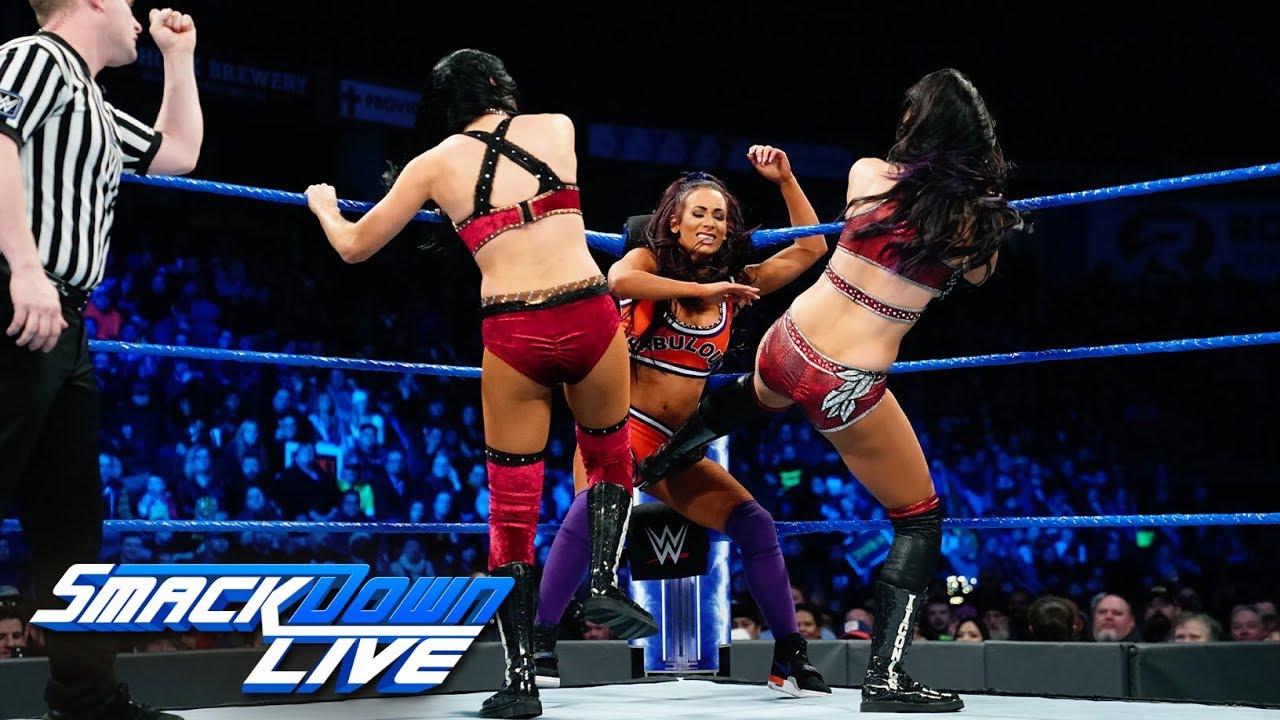 Naomi & Carmella vs. Mandy Rose & Sonya Deville vs. The IIconics: SmackDown LIVE, Feb. 5, 20