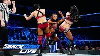 Naomi & Carmella vs. Mandy Rose & Sonya Deville vs. The IIconics: SmackDown LIVE, Feb. 5, 2019