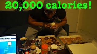 RZFitness 20 000 Calories Cheat Day 20 000 Subscriber Special
