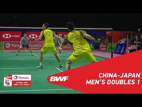 Thomas Cup Final   MD1   LIU/ZHANG (CHN) vs INOUE/KANEKO (JPN)   BWF 2018
