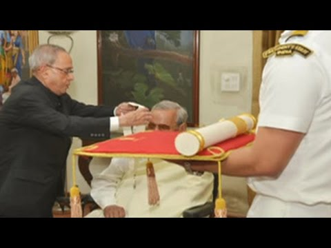 Former PM Vajpayee receives Bharat Ratna, India's highest civilian honour