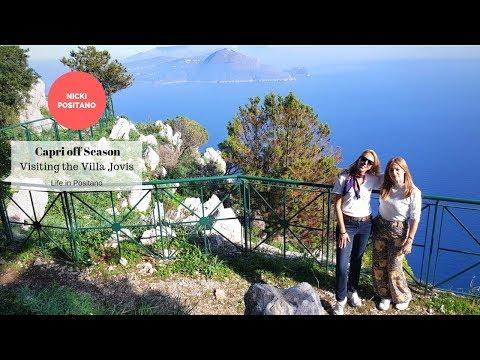 Capri off Season - Visiting the Villa Jovis