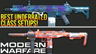 Modern Warfare: Top 5 CLASS SETUPS No One Uses! (Best Underrated Classes)