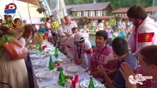 Тагир Хайбулаев и Мансур Исаев в Раздолье
