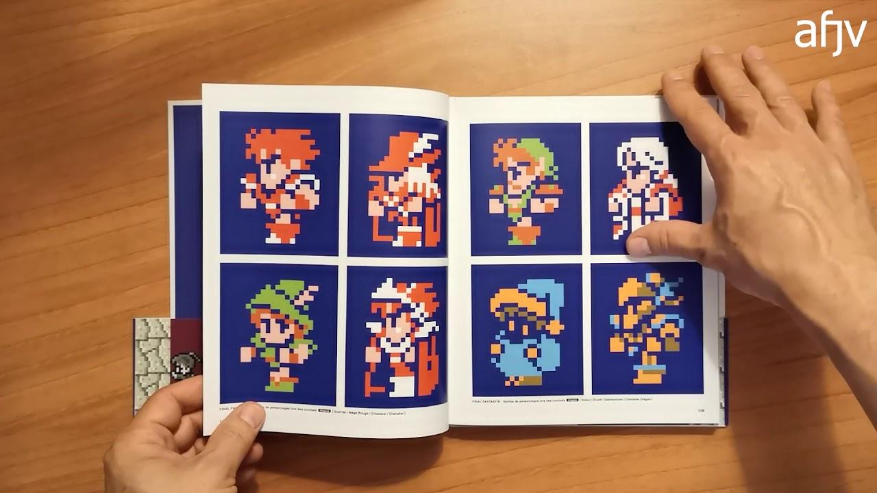 Ff Pixel L Art Du Pixel Dans Final Fantasy Livre