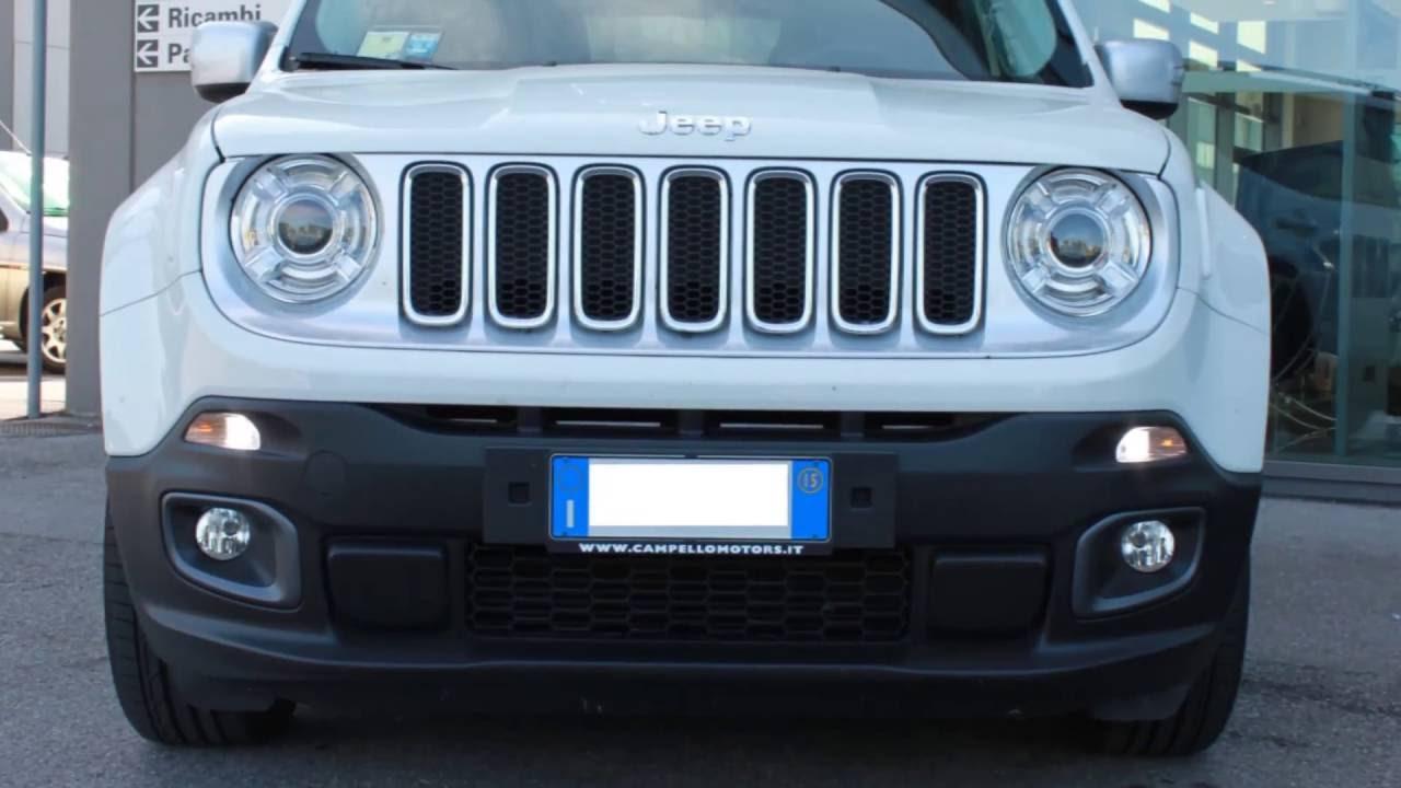 il più votato genuino diversamente di modo attraente Luci diurne LED per Jeep Renegade