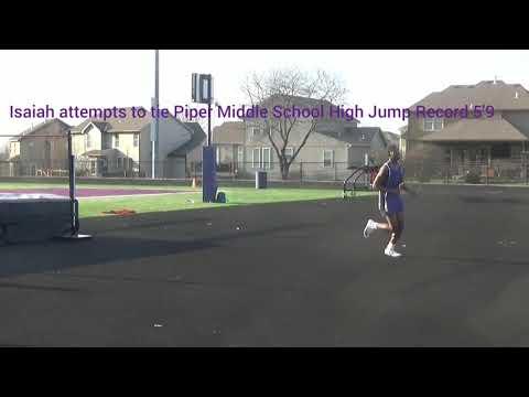 Piper Middle School Kansas City, KS Track Meet vs LTMS & Tongie MS 4/2/19