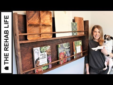 The $30 Kitchen Display Rack – Easy DIY Project