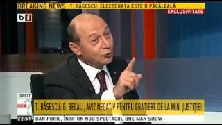 Basescu, despre gratierea lui Becali