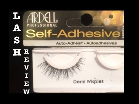 0128307f745 SELF- ADHESIVE ARDELL LASHES REVIEW. - YouTube