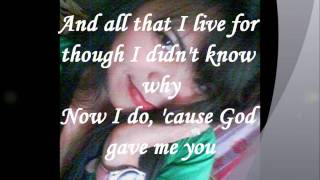 GOD GAVE ME YOU BY BRYAN WHITE