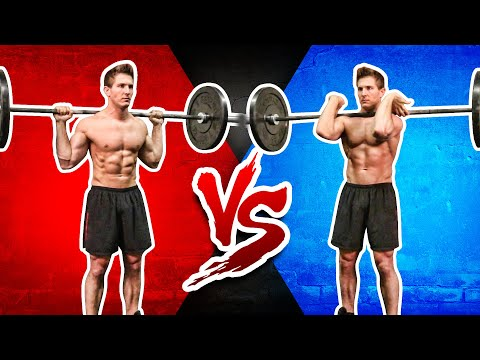 Front Squat VS. Back Squat | WHICH BUILDS MORE MUSCLE & STRENGTH?