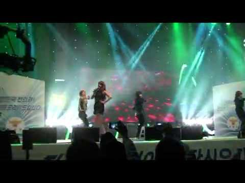 [030811] 2NE1 Fancam @ Unison Festival - IDC